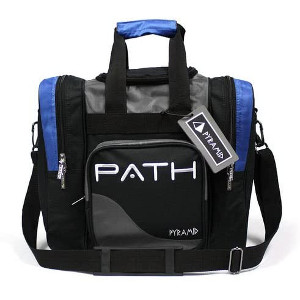 pyramid path pro deluxe single bowling ball tote bag