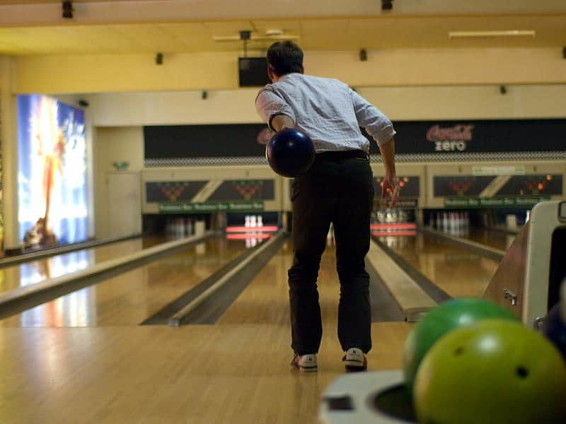 left handed bowling ball